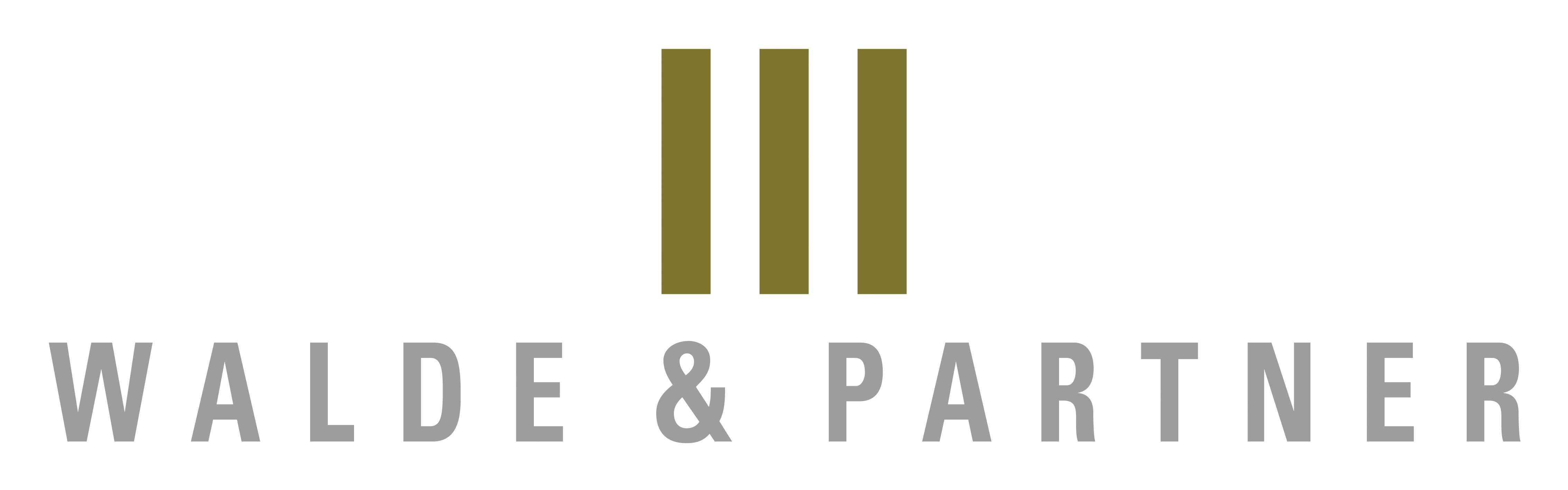 Walde & Partner Neubau-Immobilien AG Logo