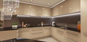 Virtueller Rundgang Küche