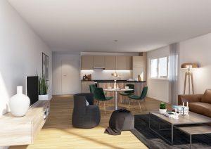 Wohnung 3D-Visualisierung