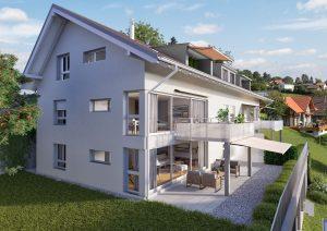 Haus Architekturvisualisierung