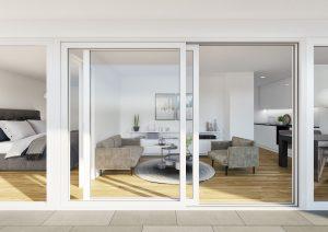 Immobilien_Visualisierungen_Terrassenansicht_MFH-Wetzikon