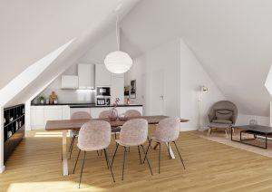 Architekturvisualisierung_Aussenbild_MFH_Oberfrick
