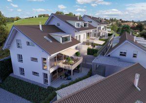Mehrfamilienhäuser Architekturvisualisierung