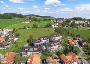 Vogelperspektive_Architektur-Visualisierung_Siedlung-Riggisberg