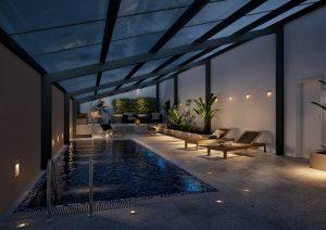 Pool Schwimmbad Visualisierungen
