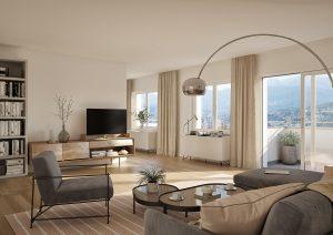Wohnzimmer Visualisierungen