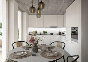 Innenbereich Küche Visualisierung