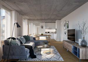 Visualisierung Wohnung