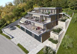 Architekturvisualisierung-Terrassenhaus_Mettau