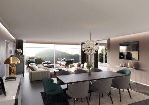 Innenraum-Wohnzimmer-Minotti-Visualisierung