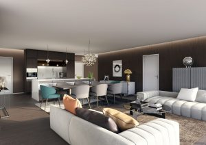 Wohnraum-Minotti-Moebel-3D-Visualisierung
