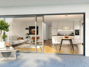 3D-Visualisierung-Innenansicht-Wohnung