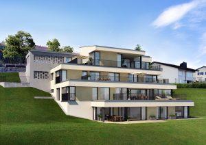Visualisierung_Terrassenhaus_Malters