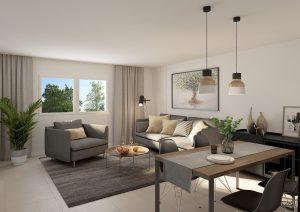 3D-Visualisierung-Wohnzimmer-Limmatstrasse-ZH
