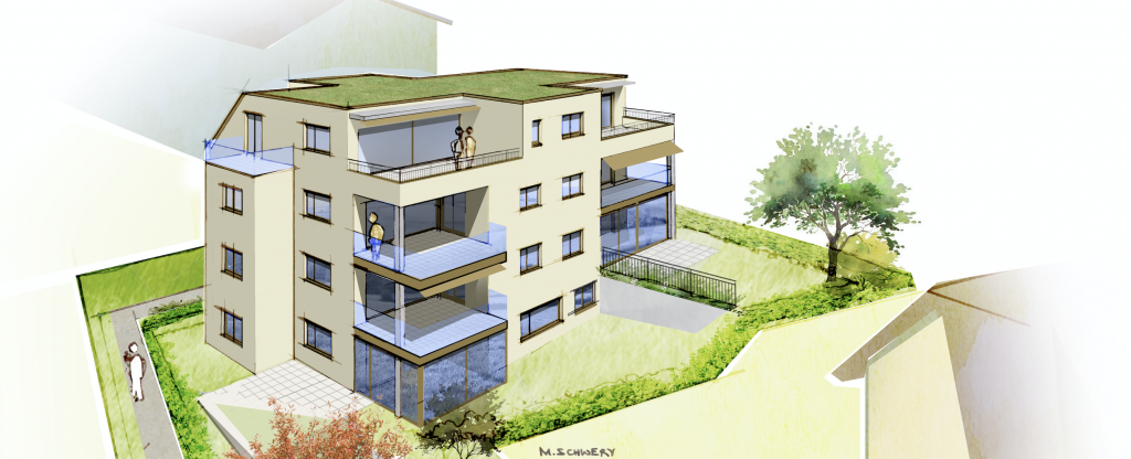 Neubauprojekt mit 7 Eigentumswohnungen in Uster
