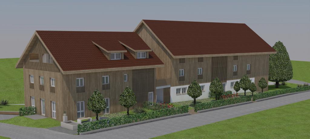 9 neue Eigentumswohnungen in Rickenbach ZH