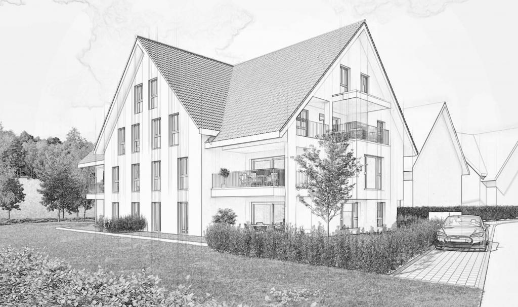 Neubauprojekt mit 13 Eigentumswohnungen in Embrach