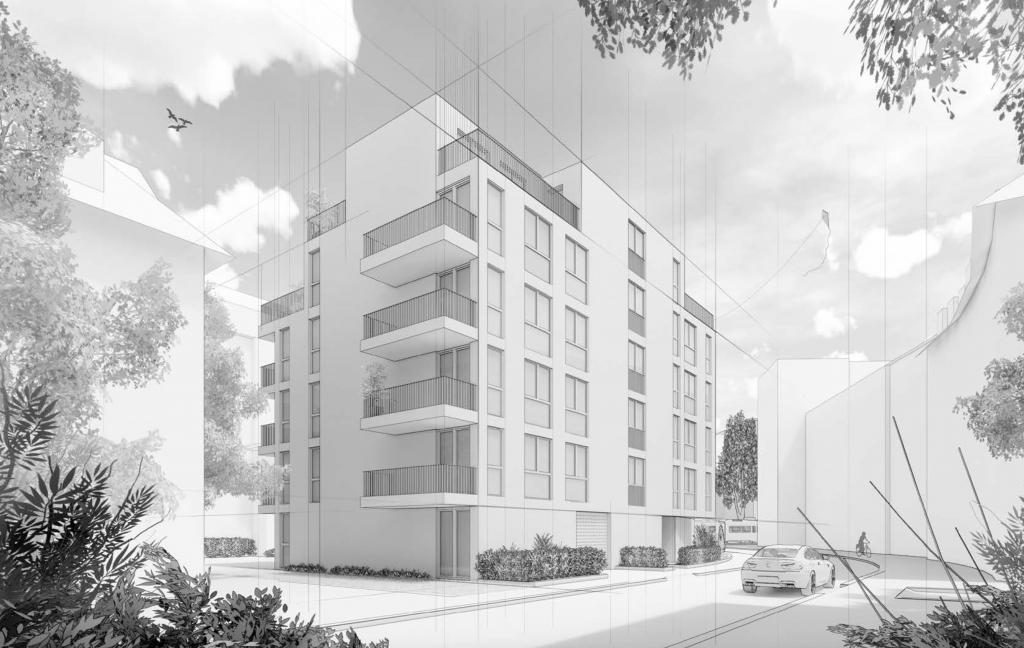 18 Eigentumswohnungen+Ateliers in Zürich Oerlikon