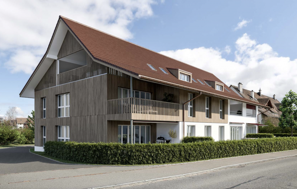 Neubau 7 Eigentumswohnungen Schwerzenbach