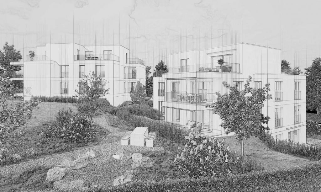 Neubau 8 Eigentumswohnungen in Wädenswil