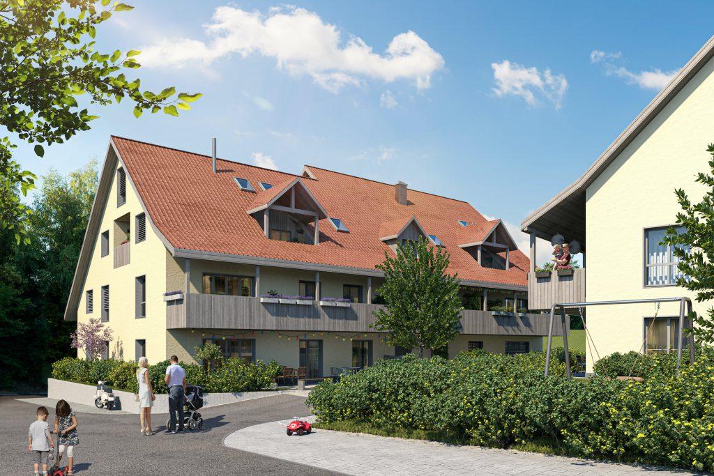 12 Neubauwohnungen in Opfikon-Glattbrugg