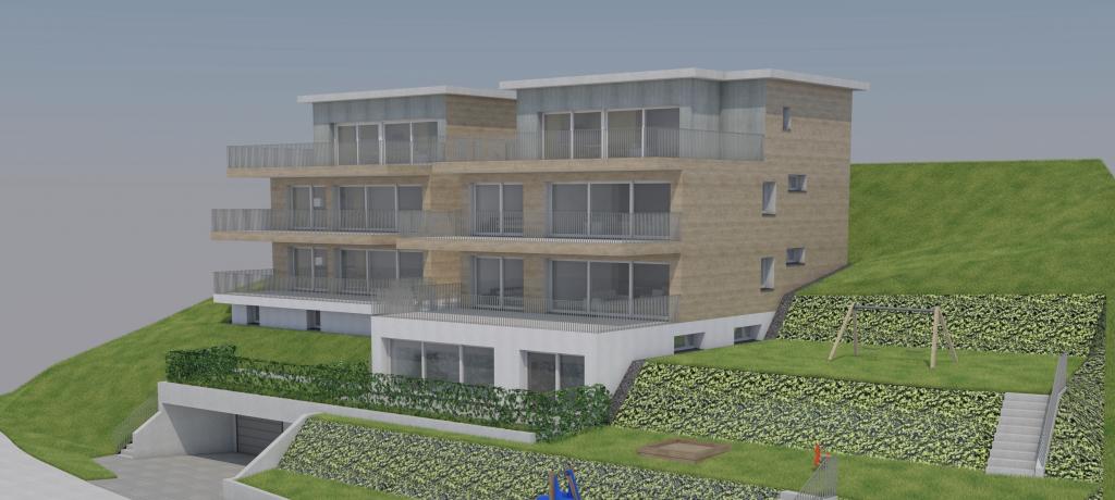 Neubauprojekt mit 7 Eigentumswohnungen in Gattikon