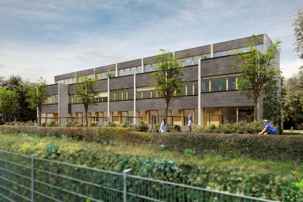 Neubauprojekt mit 7 Reihen-Einfamilienhäuser