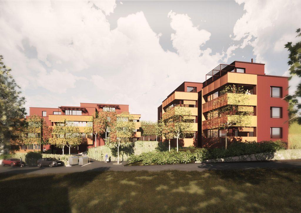 Neubau 2 Mehrfamilienhäuser mit 17 Wohnungen