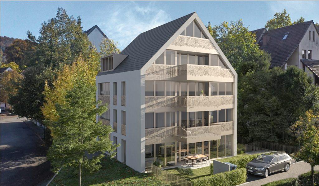 Neues Mehrfamilienhaus mit vier Eigentumswohnungen