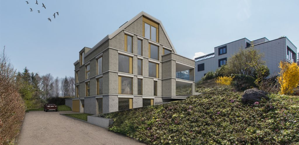 Neubau Mehrfamilienhaus mit 6 Eigentumswohnungen