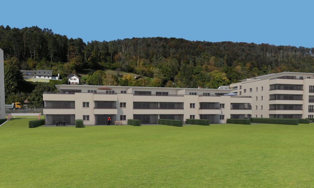 Neubau Wohnüberbauung mit 83 Einheiten