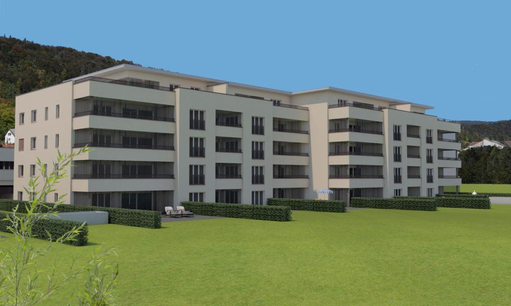 Haus 5 mit Hintergrund_ohne Turm