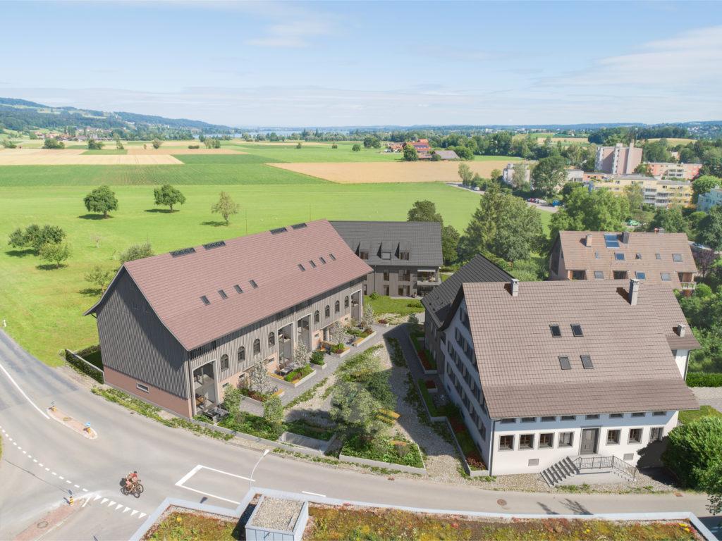 Neubau 20 Eigentumswohnungen und 1 EFH