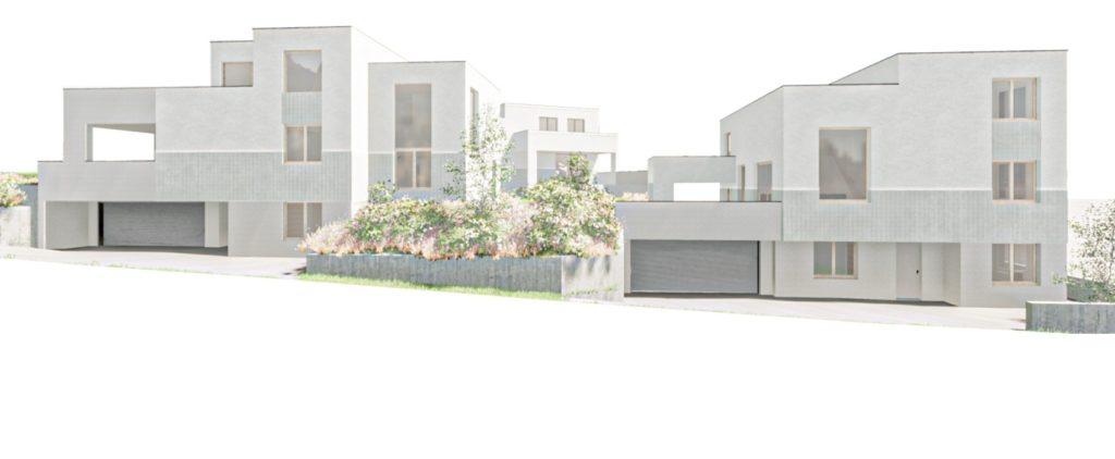 Neubau drei Einfamilienhäuser mit 5.5 Zimmern