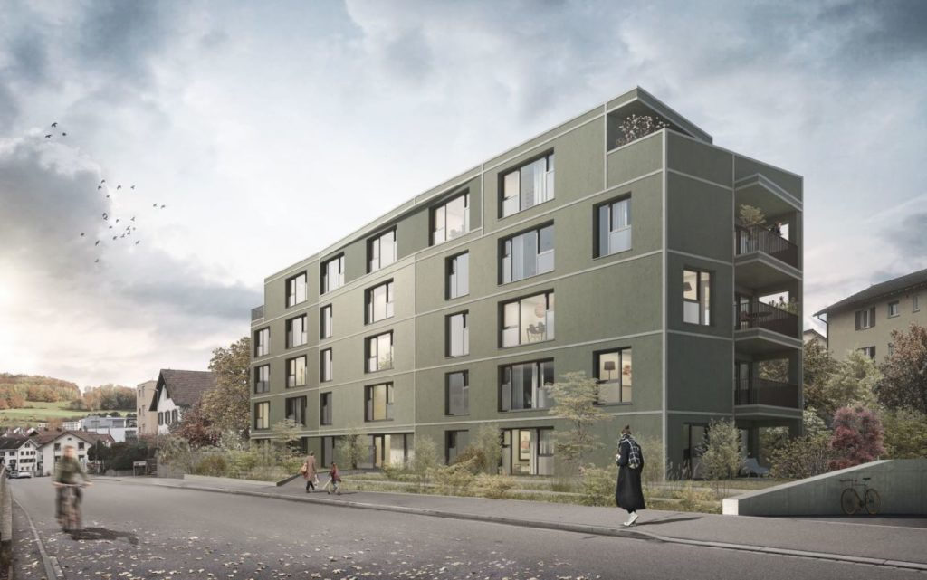 Neubau Mehrfamilienhaus im Herzen von Affoltern