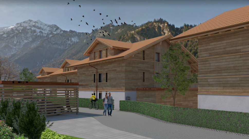Neubau von 4 Mehrfamilienhäuser