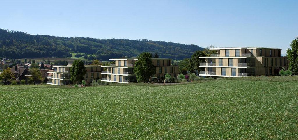 Neubau 3 MFH mit 29 Eigentumswohnungen