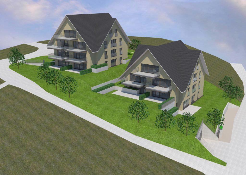 Neubauprojekt Humlikon mit attraktiven Wohnungen