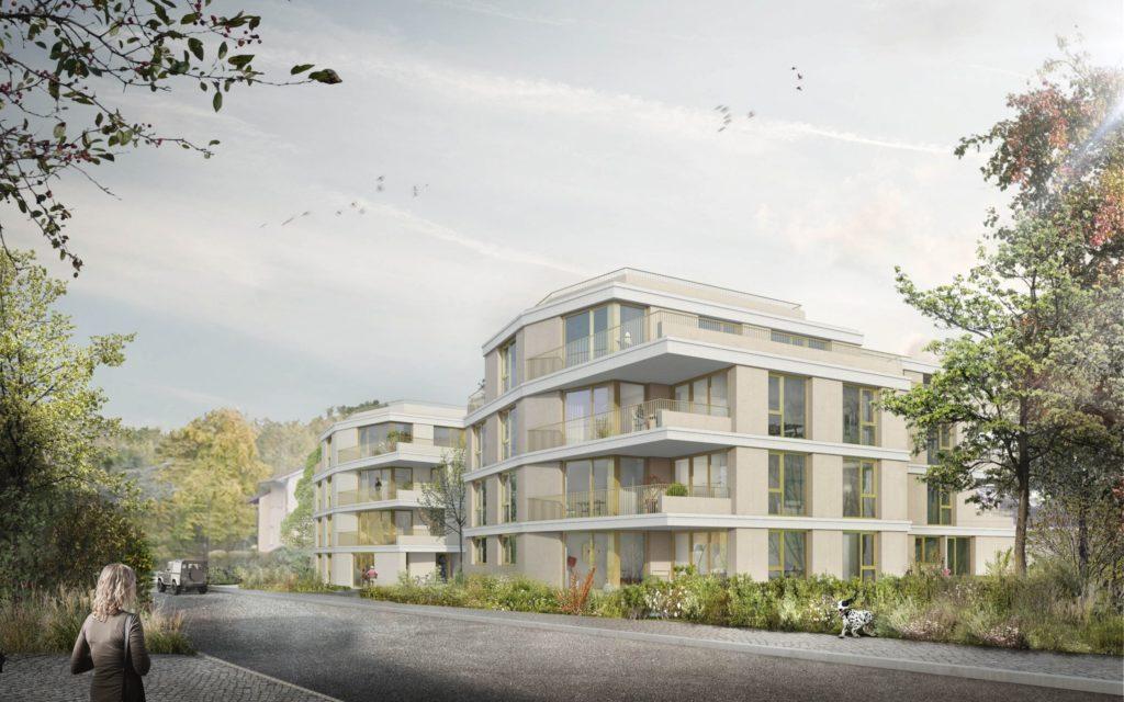 Neubau 2 Mehrfamilienhäuser mit 14 Wohnungen