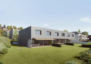 3D-Visualisierung_Neubau_Siedlung_Wichtrach