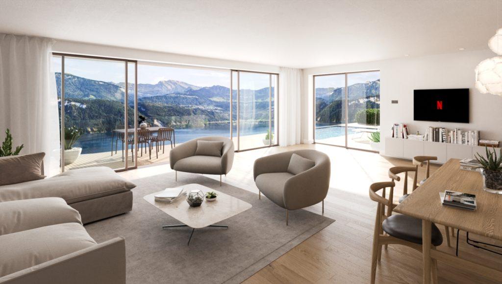 Neubau 2 DEFH mit 5.5 Zimmern und Seesicht