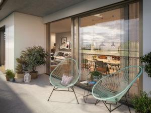 Schöngrün-Balkon-Visualisierung