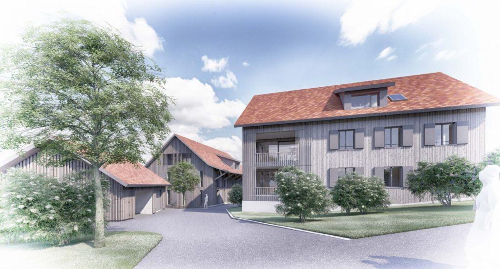 Neubau 3 Mehrfamilienhäuser mit 13 Wohnungen