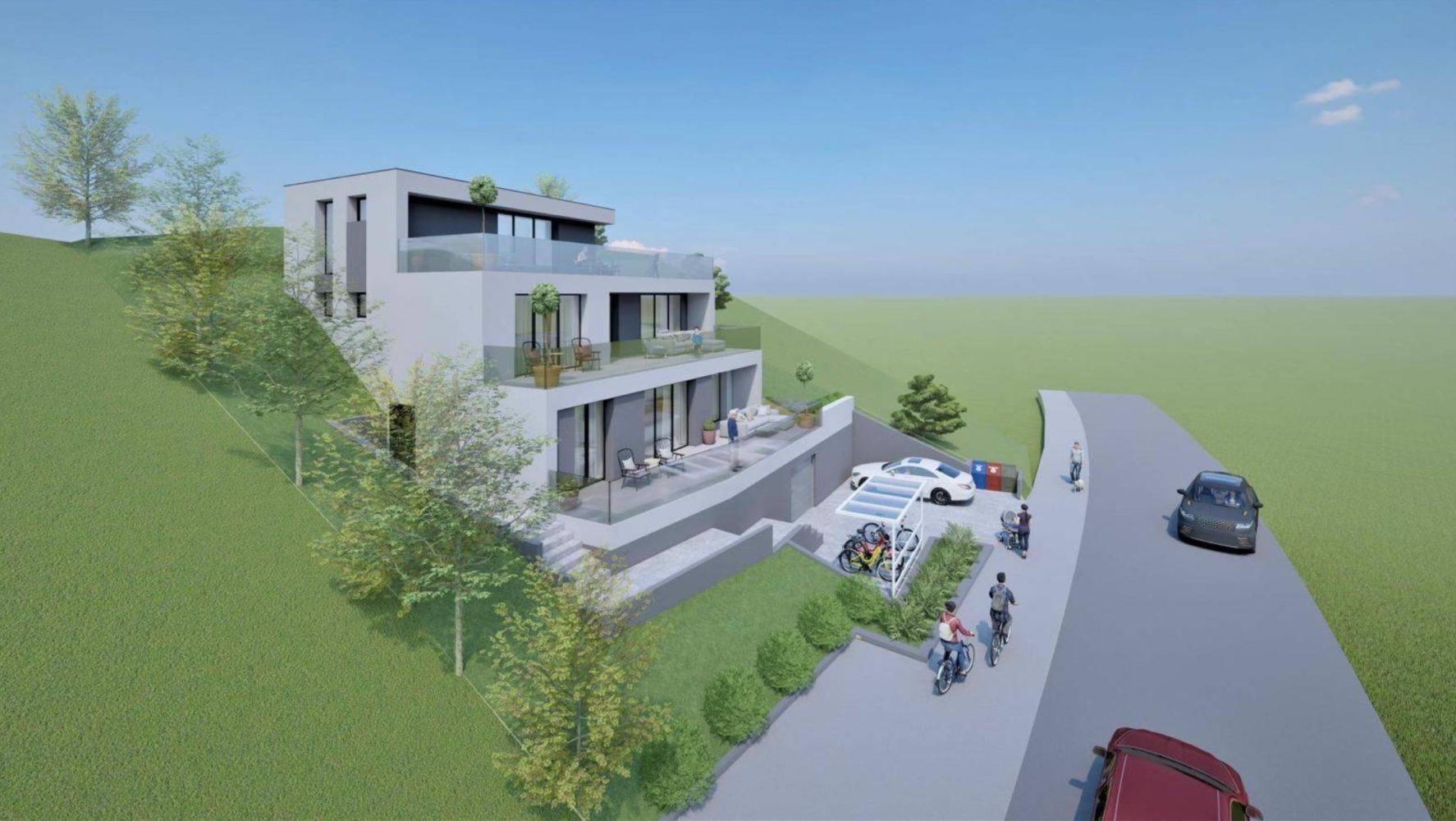 Neubau Mehrfamilienhaus mit drei Wohneinheiten