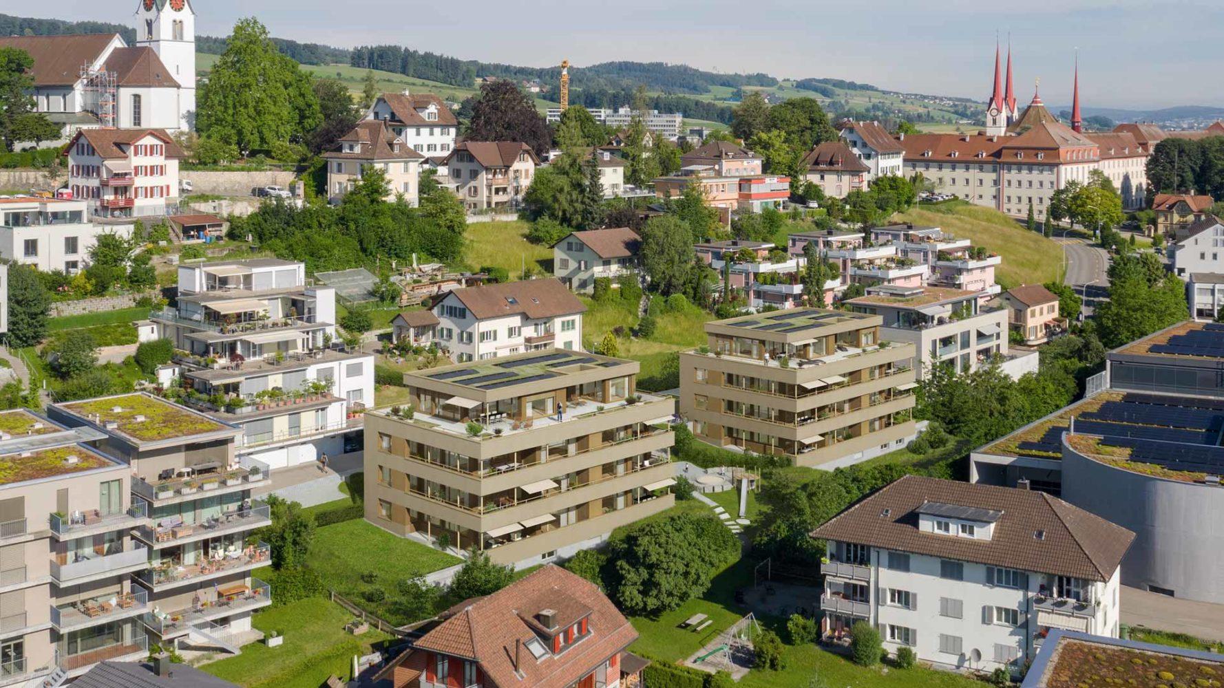 Neubau Mehrfamilienhaus mit 7 Eigentumswohnungen
