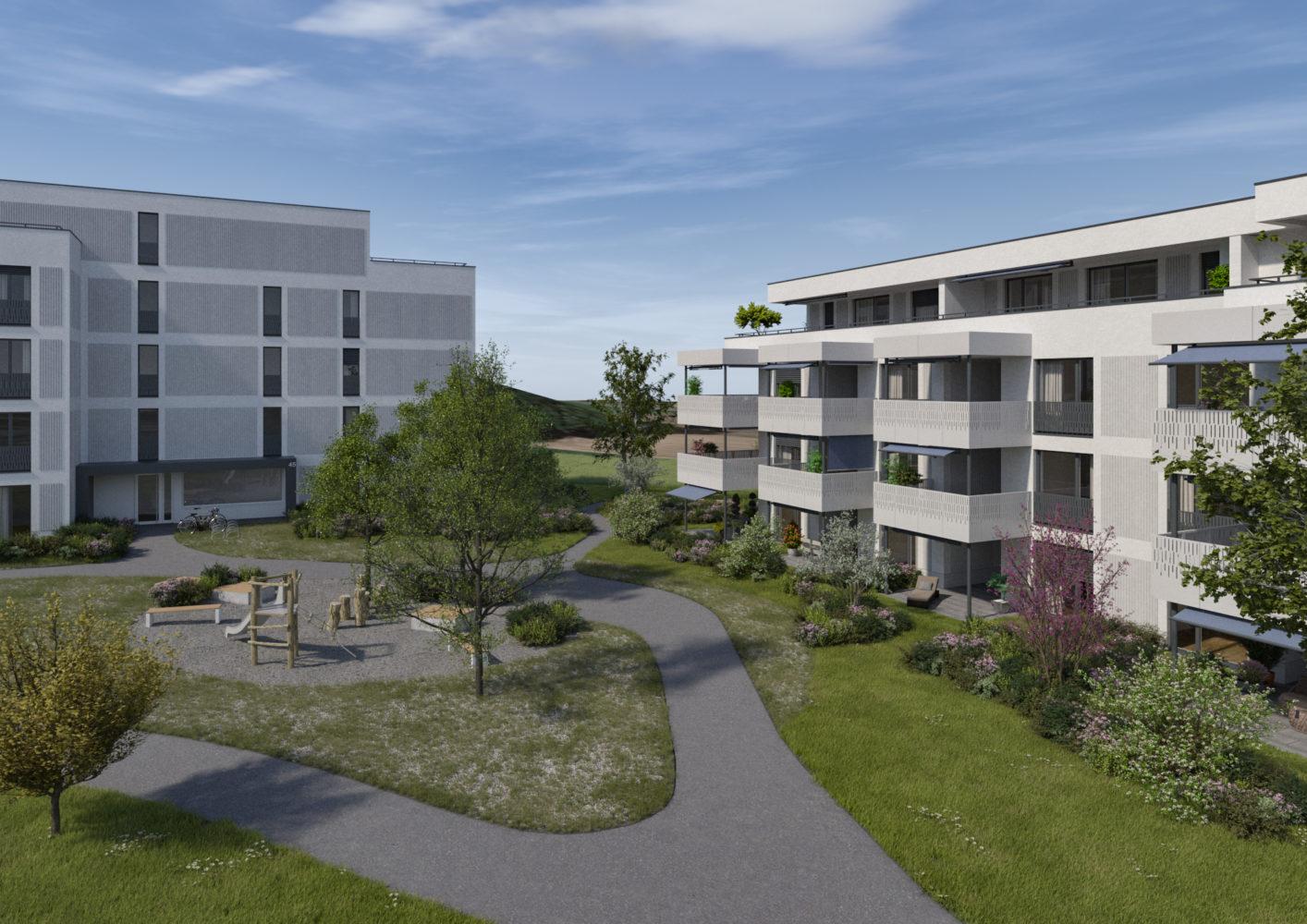 Gränichen AG: Moderne Eigentumswohnungen