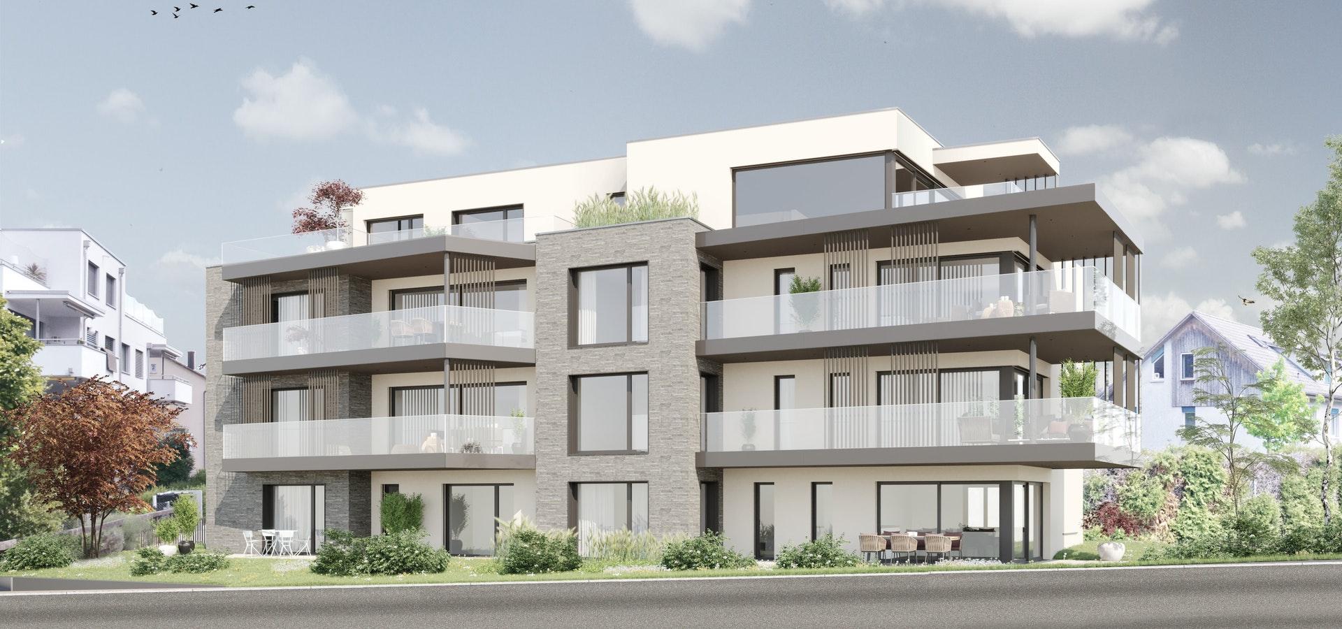 Neubau Mehrfamilienhaus mit 7 Wohnungen