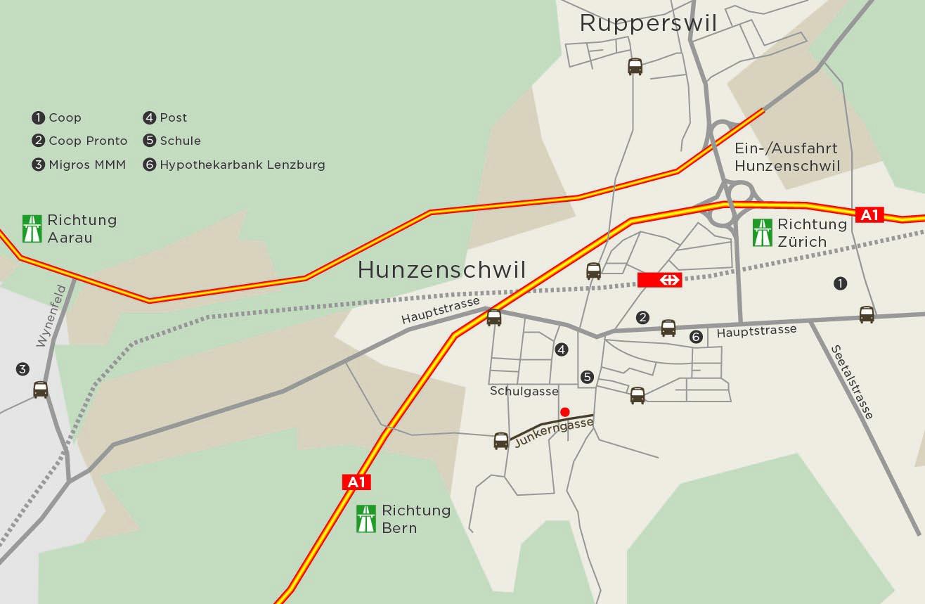 Hunzenschwil - Attraktive Eigentumswohnungen