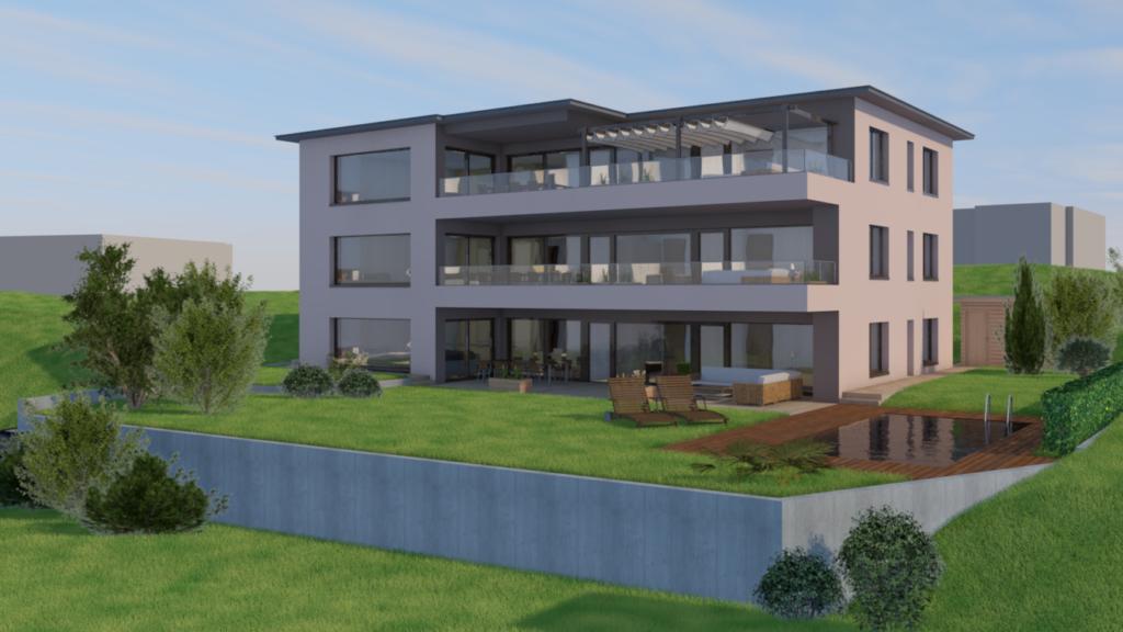 Neubau Mehrfamilienhaus mit 3 Eigentumswohnungen