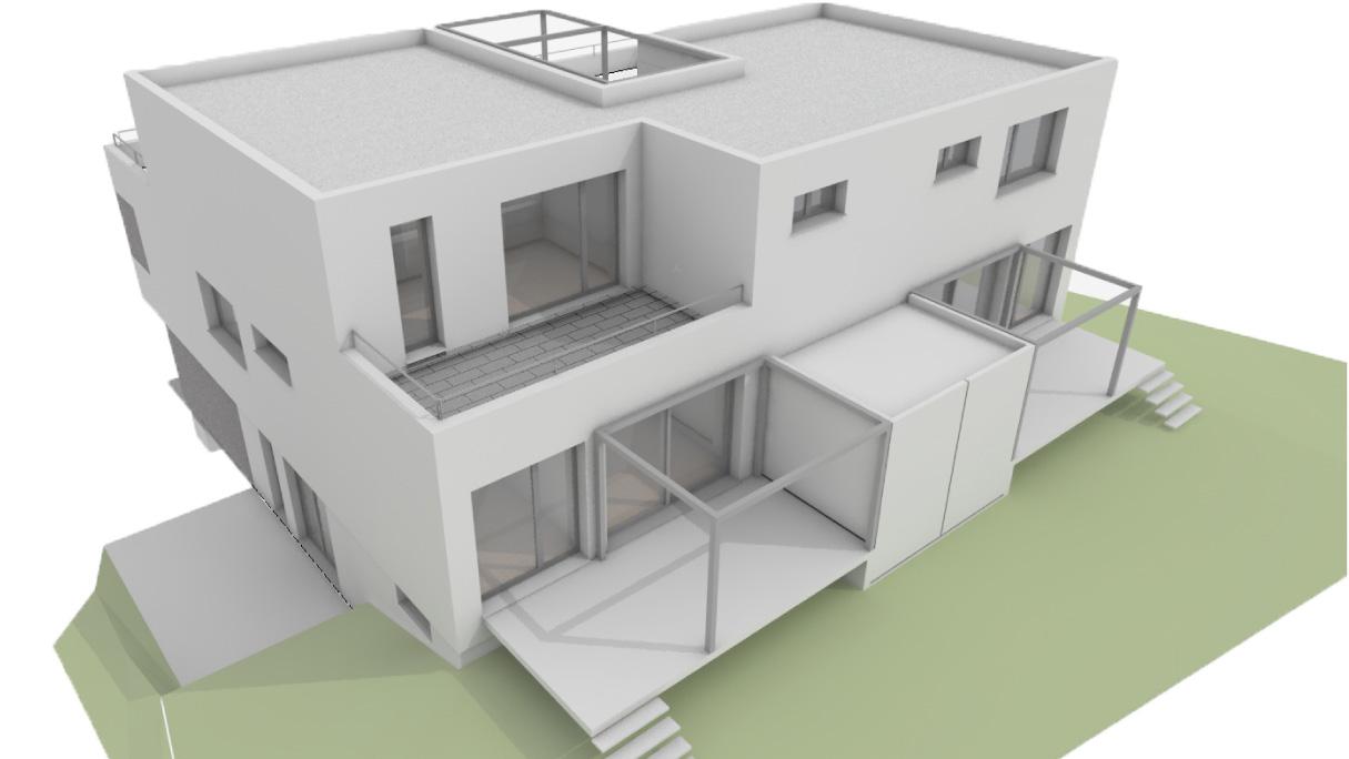 Neubau Dreifamilienhaus mit Eigentumswohnungen